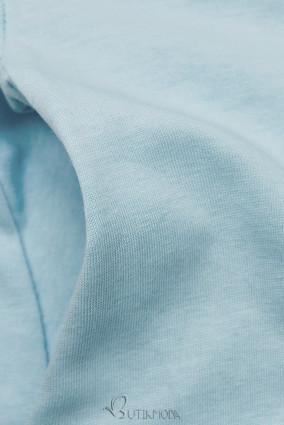 Babakék színű ruha rátéttel SUMMER