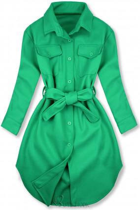 Zöld színű könnyű köpeny